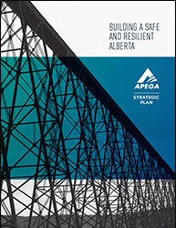 The cover of APEGA's Strategic Plan