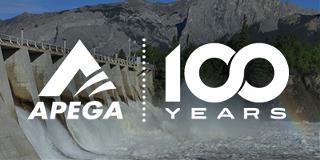 Logo for APEGA's Centennial Celebration