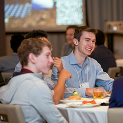 Lunch Networking at the 2019 Student Conference